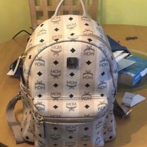 Mcm beige backpack only used it twice